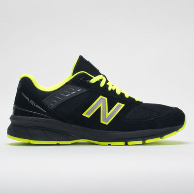 New Balance 990v5 Men's Black/Atomic Yellow