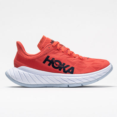 Hoka One One Carbon X 2 Women's Hot Coral/Black Iris