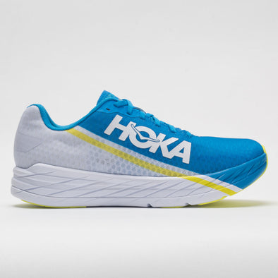 Hoka One One Rocket X Unisex White/Diva Blue