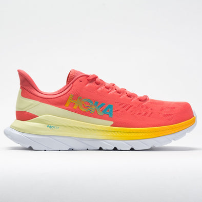 Hoka One One Mach 4 Men's Hot Coral/Saffron