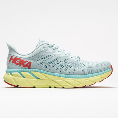 Hoka One One Clifton 7 Women's Morning Mist/Hot Coral