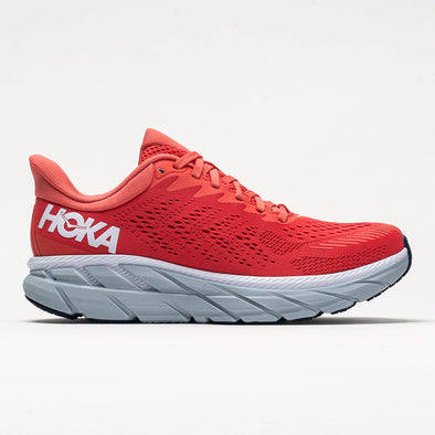 Hoka One One Clifton 7 Women's Hot Coral/White