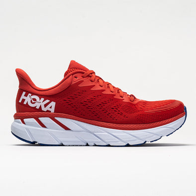Hoka One One Clifton 7 Men's Fiesta/White