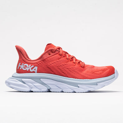 Hoka One One Clifton Edge Women's Hot Coral/White