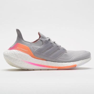 adidas Ultraboost 21 Women's Grey/Screaming Orange