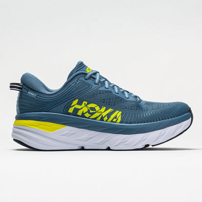 Hoka One One Bondi 7 Men's Provincial Blue/Citrus