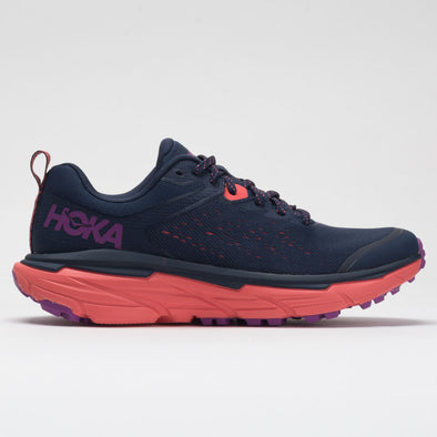 Hoka One One Challenger ATR 6 Women's Black Iris/Hot Coral