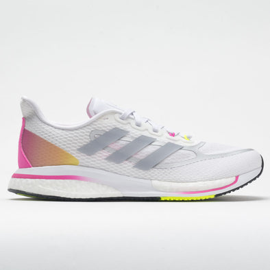adidas Supernova+ Women's White/Halo Silver/Screaming Pink