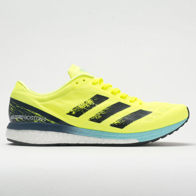 adidas adizero Boston 9 Men's Solar Yellow/Core Black/Clear Aqua