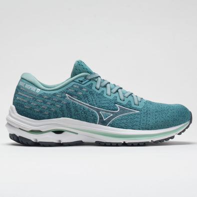 Mizuno Wave Inspire 17 Waveknit Women's Dusty Turquoise/White