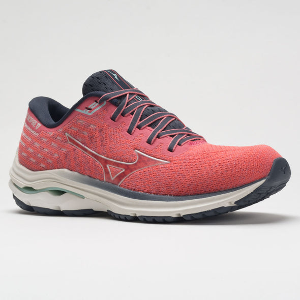Mizuno Wave Inspire 17 Waveknit Women's Ignition Red/Snow White