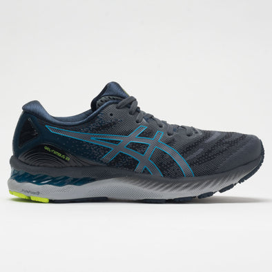 ASICS GEL-Nimbus 23 Men's Carrier Gray/Digital Aqua