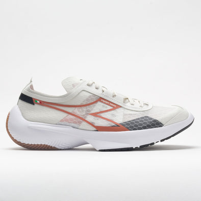 Diadora Equipe Corsa Men's Lily White/Mecca Orange/Black
