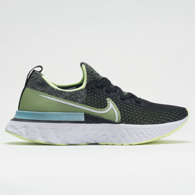 Nike React Infinity Run Flyknit Women's Black/Barely Volt