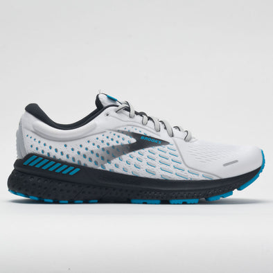 Brooks Adrenaline GTS 21 Men's White/Grey/Atomic Blue
