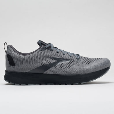 Brooks Revel 4 Men's Gray/Blackened Pearl/Black