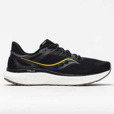 Saucony Hurricane 23 Men's Black/ ViZi Gold