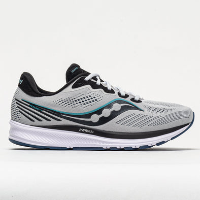 Saucony Ride 14 Men's Fog/Black/Storm