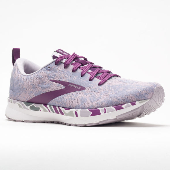 Brooks Revel 4 Abstract Pack Women's White/Wood Violet/Iris