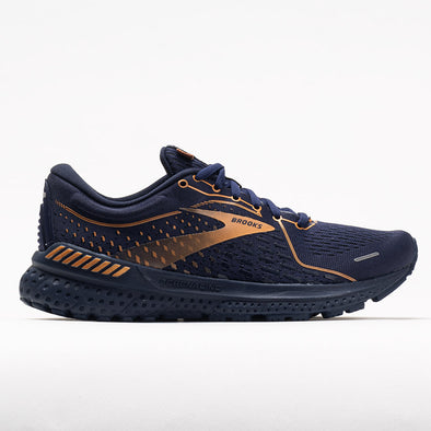 Brooks Adrenaline GTS 21 Metallics Collection Women's Navy