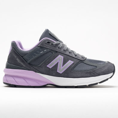 New Balance 990v5 Women's Lead/Dark Violet Glo
