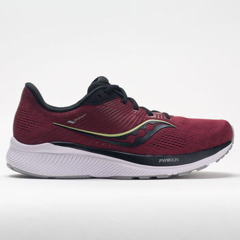Saucony Guide 14 Men's Mulberry/Lime (Item #046982)
