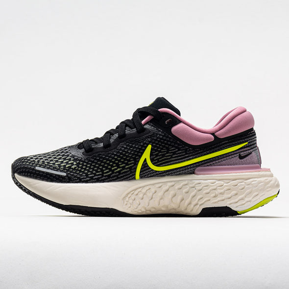 Nike ZoomX Invincible Run Flyknit Women's Black/Cyber Elemental Pink