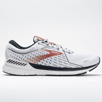 Brooks Adrenaline GTS 21 Men's White/Black/Orange