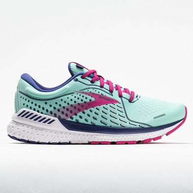 Brooks Adrenaline GTS 21 Women's Yucca/Navy Blue/Fuchsia