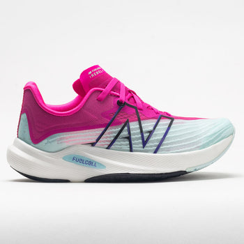 New Balance FuelCell Rebel v2 Women's Pale Blue Chill/Pink Glo (Item #047371)