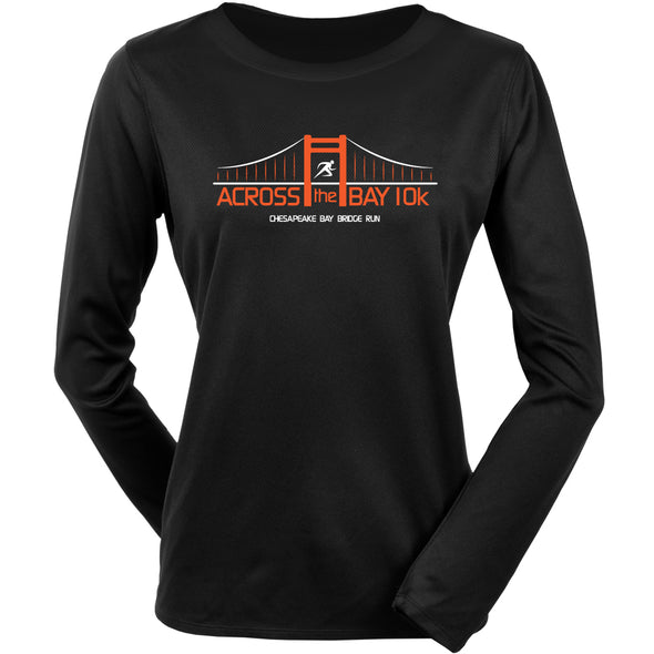Official Across the Bay 10K In Training Long Sleeve Tee Women's