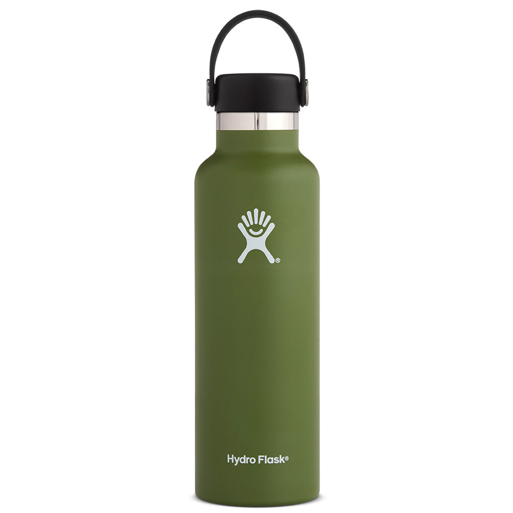 Hydro Flask 21oz Standard Mouth with Flex Cap: Hydro Flask Hydration Belts & Water Bottles