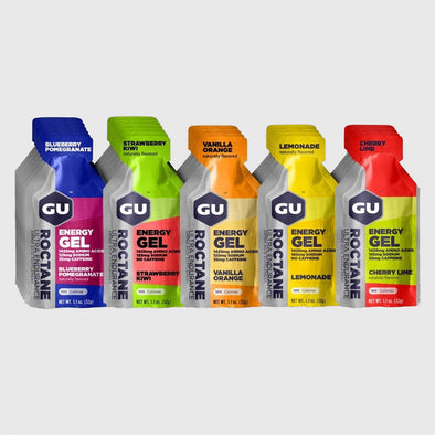 GU Roctane Energy Gel Mixed Flavors 24 Pack