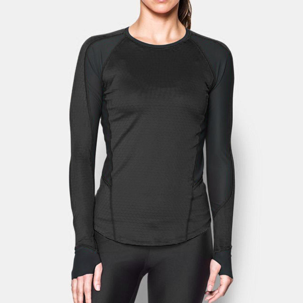 df7386c43 Under Armour ColdGear Reactor Run Long Sleeve Shirt Women's ...