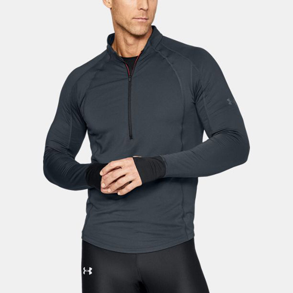 Under Armour Coldgear Stretch 1//2 Zip Running Top