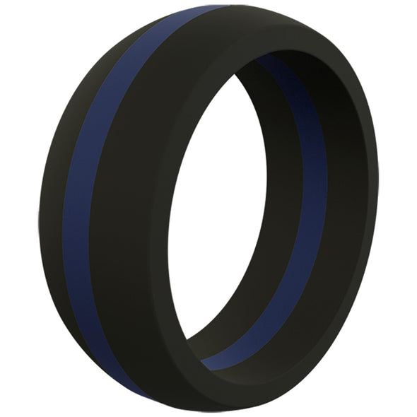 QALO Thin Line Ring Men's