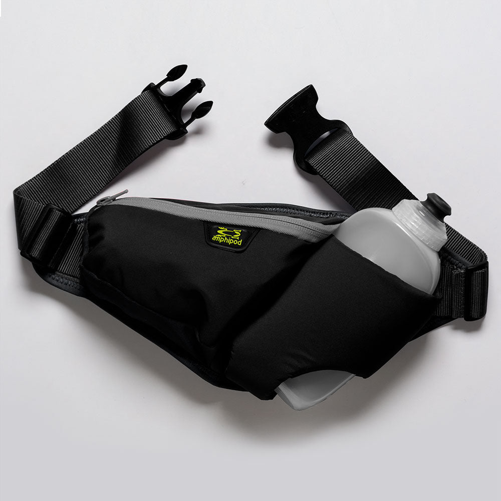 Amphipod Profile-Lite High Five-K Belt 16oz: Amphipod Hydration Belts & Water Bottles
