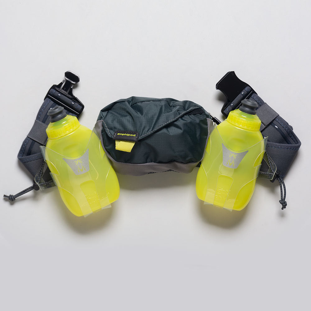 Amphipod Profile-Lite Breeze 21oz Belt: Amphipod Hydration Belts & Water Bottles