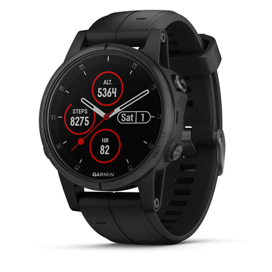 Garmin fenix 5s Plus Sapphire Black GPS Watch
