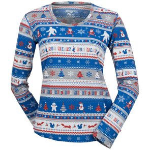Brooks Ugly Sweater Long Sleeve Women's