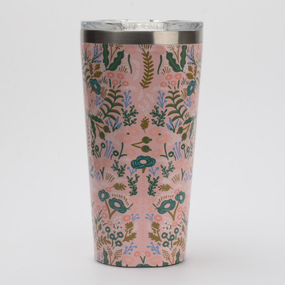 Corkcicle 16oz Tumbler Rifle Paper Co. Collection: Corkcicle Hydration Belts & Water Bottles
