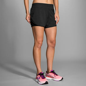 "Brooks Rep 3"" 2-in-1 Shorts Women's"