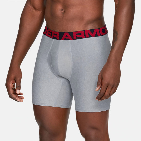 "Under Armour Tech 9"" Boxerjock 2-Pack Men's"