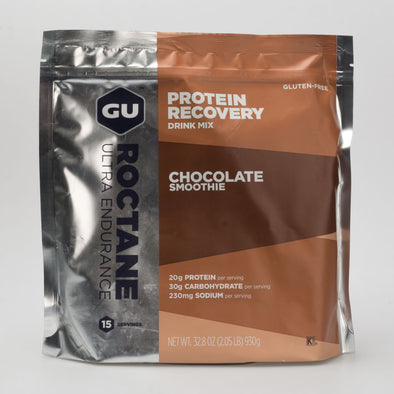 GU Roctane Protein Recovery Drink Mix (15 Servings)
