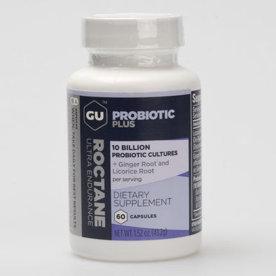 GU Roctane Probiotic Plus Capsules 60ct Bottle
