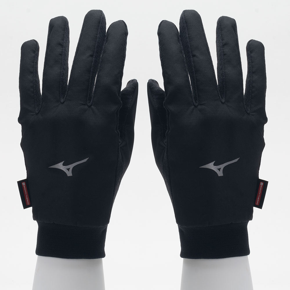 mizuno running glove breath thermo