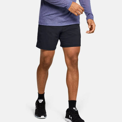 "Under Armour Qualifier SpeedPocket 7"" Linerless Shorts Men's"