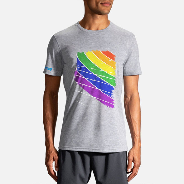 Brooks Run Proud Distance Tee Men's