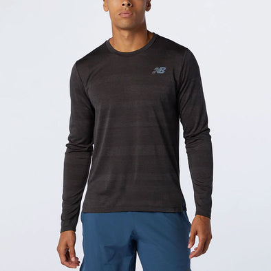 New Balance Q Speed Fuel Jacquard Long Sleeve Men's