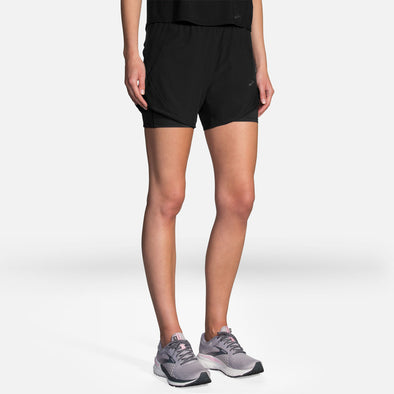 "Brooks Chaser 5"" 2-in-1 Shorts Women's"